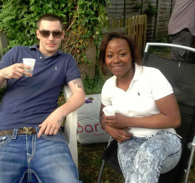 Craig Kearney with Acacia Smith