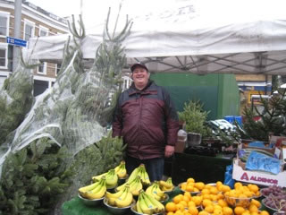Richard Webster at Acton Market
